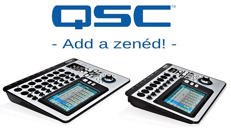 QSC - Add a zenéd 2015. Road show
